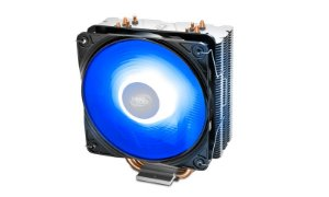 Cooler Deepcool Gammaxx 400 V2 4 Heatpipes 120mm PWM Fan c/ Blue LED (DP-MCH4-GMX400V2-BL)