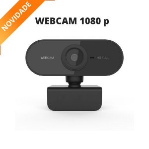 Webcam Bluecase Full HD 1080p Preta (BWEB1080P-02)