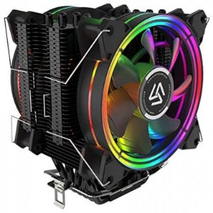 Cooler Alseye H120D V2.0 120mm 6 Heat pipes PWM RGB Fan Intel-AMD