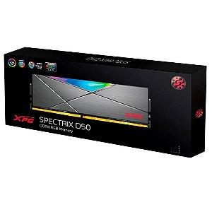 XPG Spectrix D50, RGB, 16GB, 3000MHz, DDR4, CL16 - (AX4U3000716G16A-ST50)