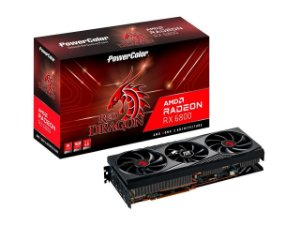 PowerColor Radeon RX 6800 Red Dragon, 16GB, GDDR6, 256bit, RDNA 2, PCIe 4.0, HDMI 2.1, AMD Infinity AXRX 6800 16GBD6-3DHR/OC
