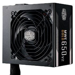Fonte Cooler Master MWE, 650W, 80 Plus Gold - (MPE-6501-ACAAG-WO)