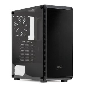 Gabinete DT3sports Atomo Lateral Acrílico Com 1 Fan, Black (11438-7)