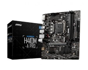 MSI H410M-A Pro Chipset H410 Intel LGA 1200 mATX DDR4
