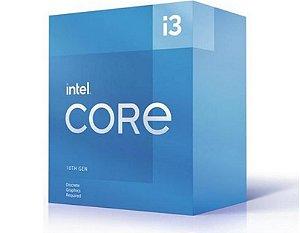 Intel Core i3-10105F 3.7GHz (4.4GHz Turbo) 10ª Geração 4-Cores 8-Threads Cache 6MB LGA 1200 (BX8070110105F)