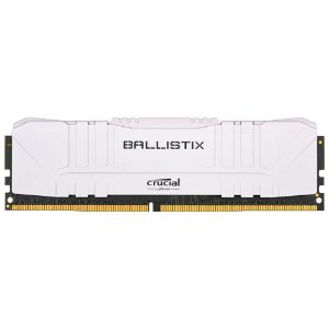Crucial Ballistix 8GB DDR4 3000 Mhz CL15 Branco (BL8G30C15U4W)