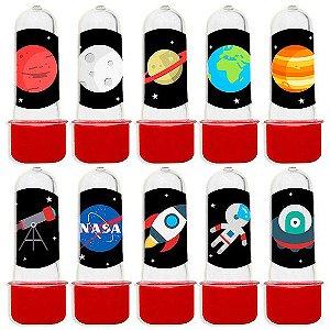 Mini Tubete Lembrancinha Festa Astronauta com 20 unidades - Lembrafesta