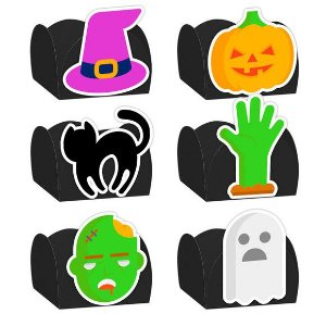 Forminha Festa Halloween Sortido 24 Unidades - Lembrafesta