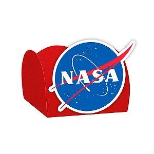 Forminha para Doces Festa Astronauta - Vermelha - Nasa - 24 Unidades - Lembrafesta