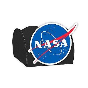 Forminha para Doces Festa Astronauta - Preta - Nasa - 24 Unidades - Lembrafesta
