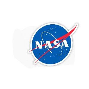 Forminha para Doces Festa Astronauta - Branca - Nasa - 24 Unidades - Lembrafesta