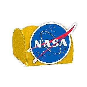 Forminha para Doces Festa Astronauta - Amarela - Nasa - 24 Unidades - Lembrafesta