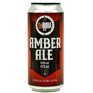 Cerveja De Bora Amber Ale- 473ml (lata)