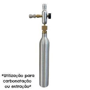 Kit Sodastream Completo (com mini reguladora + adaptador para recarga do cilindro)