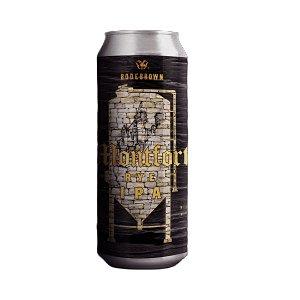 Cerveja Bodebrown Rye Ipa Montfort - 473ml (lata)