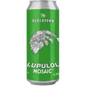 Cerveja Bodebrown Lupulol Mosaic - 473ml (lata)