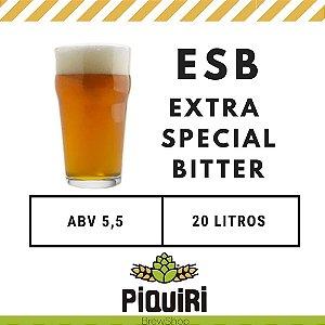 Kit receitas cerveja artesanal 20L ESB (Extra Special Bitter)