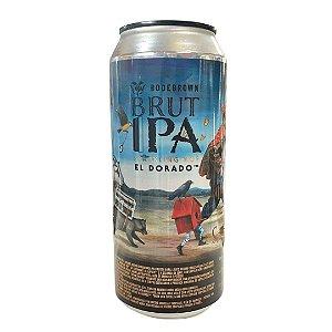 Cerveja Bodebrown Brut IPA El Dorado - 473ml (lata)