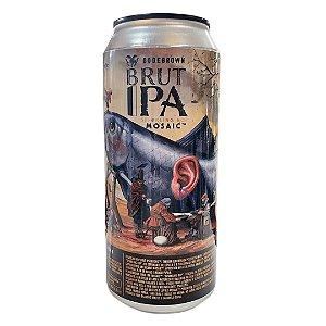 Cerveja Bodebrown Brut IPA Mosaic - 473ml (lata)