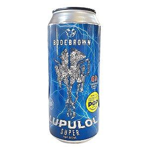 Cerveja Bodebrown Lupulol Super/Cryo POP - 473ml (lata)