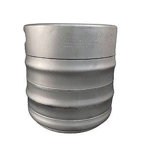 Barril de Chopp Tipo S - Aço Inox - 15 Litros - Penglai com válvula micromatic