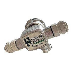 """Extratora Tipo S - Modelo Horizontal rosca 1/4"""" com DMfit"""