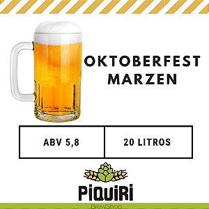 Kit receitas cerveja artesanal 20L Oktoberfest / Märzen