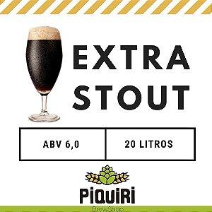 Kit receitas cerveja artesanal 20L Extra Stout