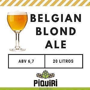 Kit receitas cerveja artesanal 20L Belgian Blond Ale