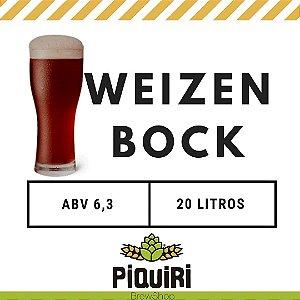 Kit receitas cerveja artesanal 20L Weizenbock
