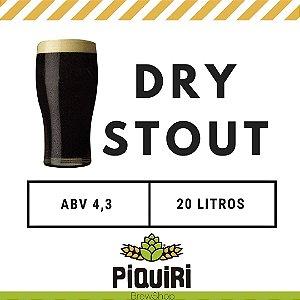 Kit receitas cerveja artesanal  20L Dry Stout