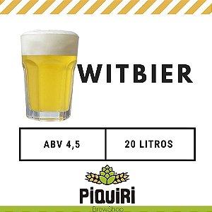 Kit receitas cerveja artesanal 20L Witbier