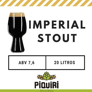 Kit receitas cerveja artesanal 20L Imperial Stout