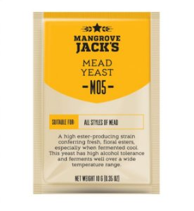 Fermento Mangrove Jacks - Mead M05 (Hidromel)