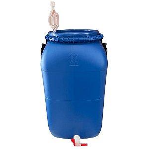 Bombona 50 Litros Completa (airlock, vedante, torneira)