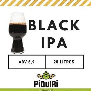 Kit receitas cerveja artesanal 20L Black IPA