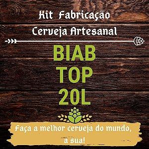 Kit BIAB para Fabricação de Cerveja - 20L (Top)