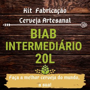 Kit BIAB para Fabricação de Cerveja - 20L (Intermediário)