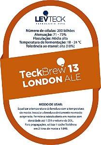Fermento Líquido TeckBrew 13 London Ale - Sachê