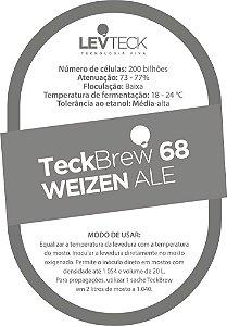 Fermento Líquido TeckBrew 68 Weizen Ale - Sachê