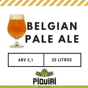 Kit receitas cerveja artesanal 20L Belgian Pale Ale