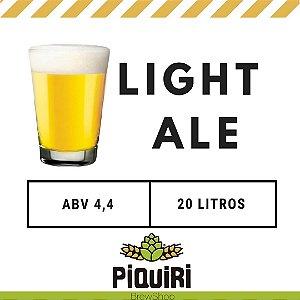 Kit receitas cerveja artesanal 20L Piquiri Light Ale
