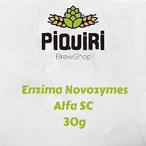Enzima Novozymes Alfa SC - 30g