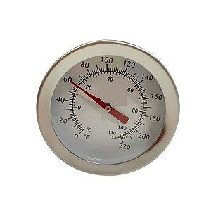 Termomêtro Analógico Clip Haste Longa