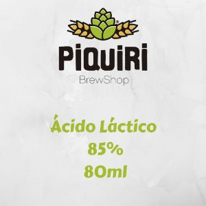 Ácido Láctico 85% - 80ml