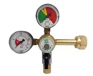 Regulador de Pressão Co2 - Chopp para 1 saída SM INDUSTIA