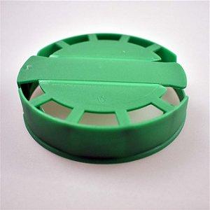 Lacre Plástico de Segurança para Barril Inox Tipo S -Verde - 10 Und