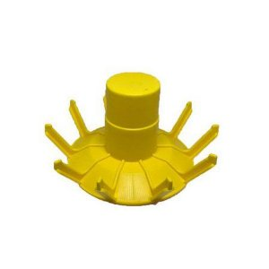 Peça Avulsa para Escorredor de Garrafas (amarelo)