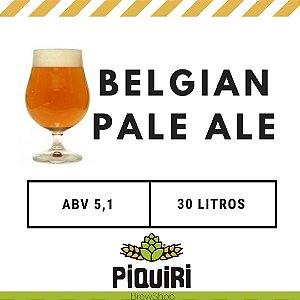 Kit receitas cerveja artesanal 30L Belgian Pale Ale