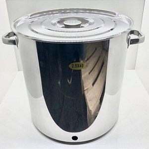 Panela Inox N. 40 - 48 Litros